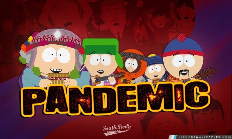 South Park en cas de pandémie, Arrière-plans HD à télécharger