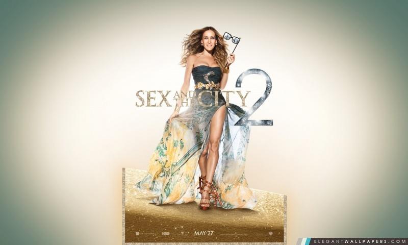 Sarah Jessica Parker comme Carrie Bradshaw, Sex And The City 2, Arrière-plans HD à télécharger