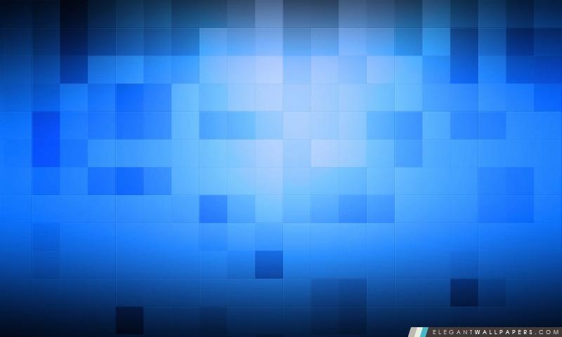 Bleu Pixel Fond Décran Hd à Télécharger Elegant Wallpapers