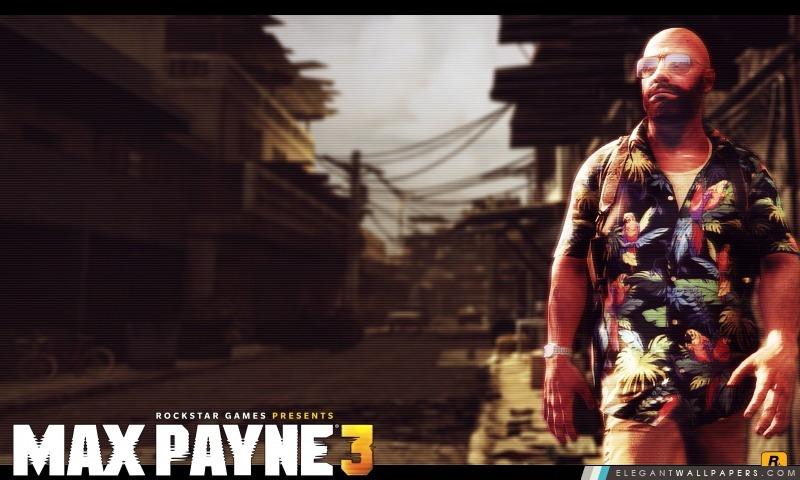 MaxPayne3, Arrière-plans HD à télécharger