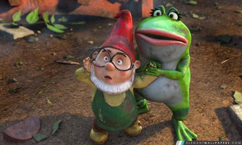 Gnomeo & Juliet, Paris et Nanette, Arrière-plans HD à télécharger