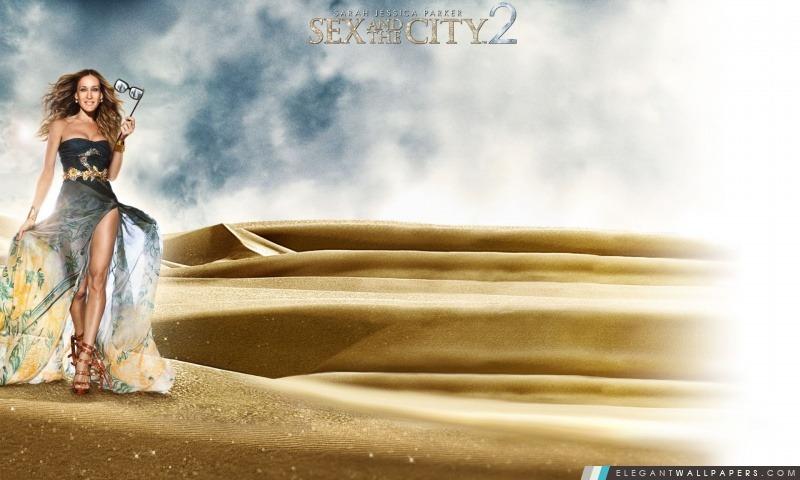 Sarah Jessica Parker comme Carrie Bradshaw dans Sex And The City 2, Arrière-plans HD à télécharger