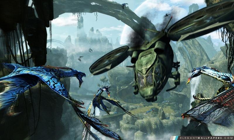 Avatar 3D 2009 Game Capture d'écran 3, Arrière-plans HD à télécharger