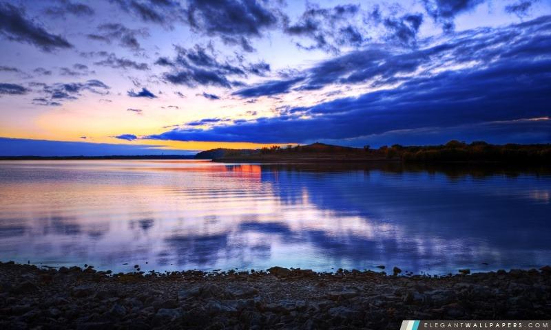 Pastel Sunset HDR, Arrière-plans HD à télécharger