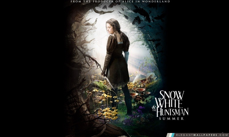 Blanche-Neige et le chasseur (2012) film fantastique, Arrière-plans HD à télécharger