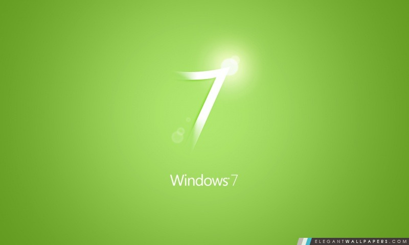 Windows 7 Vert Fond D Ecran Hd A Telecharger Elegant Wallpapers