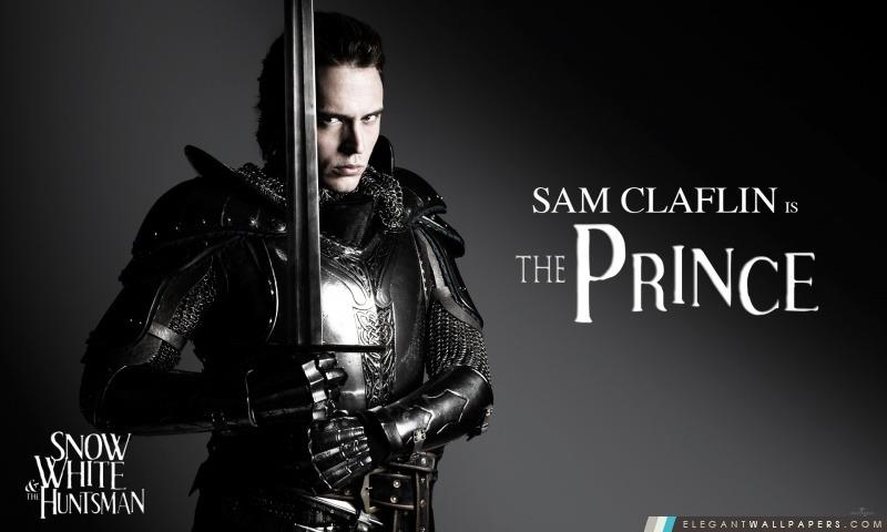 Blanche-Neige et le chasseur, Sam Claflin en tant que Prince William, Arrière-plans HD à télécharger
