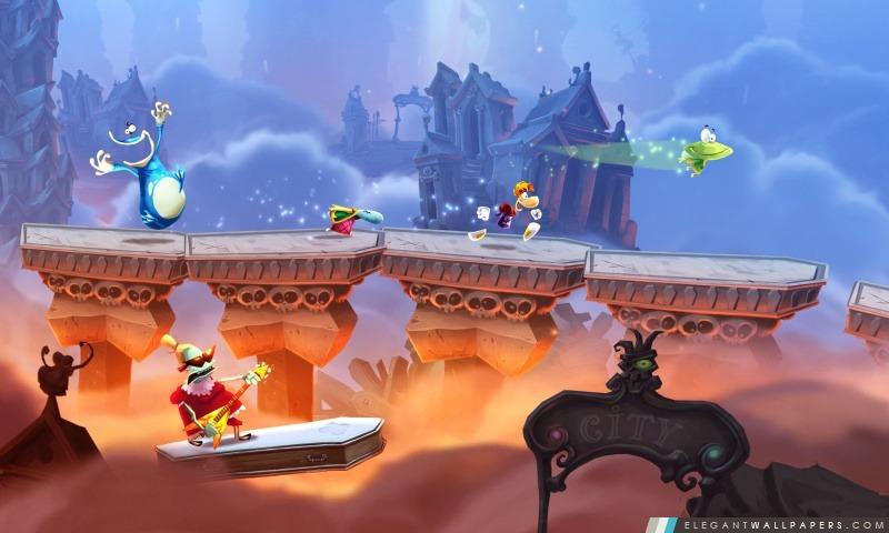 Rayman Legends Coffin rock, Arrière-plans HD à télécharger