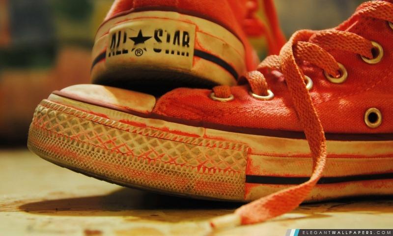 Converse Sneakers Rouge Fond D écran Hd à Télécharger