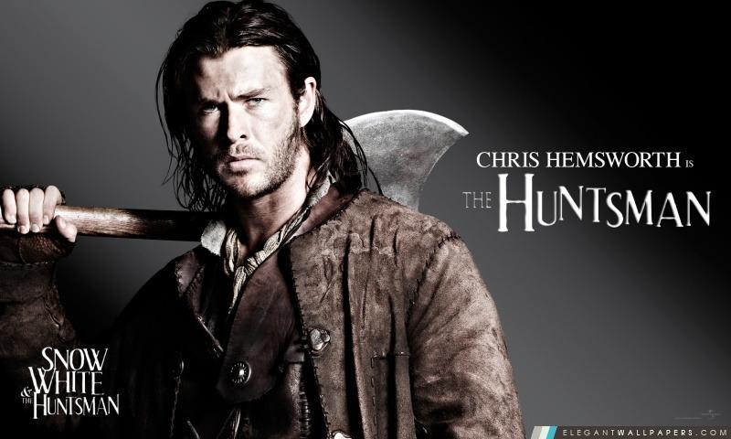 Blanche-Neige et le chasseur, Chris Hemsworth dans le rôle du chasseur, Arrière-plans HD à télécharger