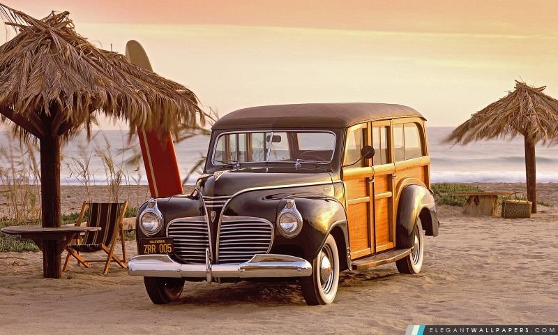 1941 Plymouth Woody, Arrière-plans HD à télécharger