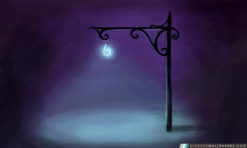 Dark Street Painting, Arrière-plans HD à télécharger
