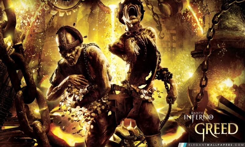 Inferno de Dante Greed, Arrière-plans HD à télécharger