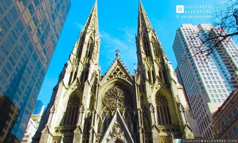La cathédrale de St Patrick, New York City, Arrière-plans HD à télécharger