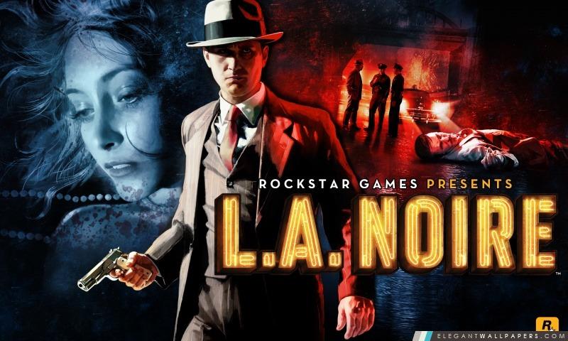 LA Noire, Arrière-plans HD à télécharger