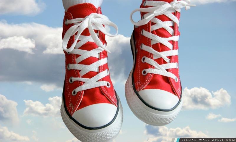 Sneakers Rouges Fond D écran Hd à Télécharger Elegant
