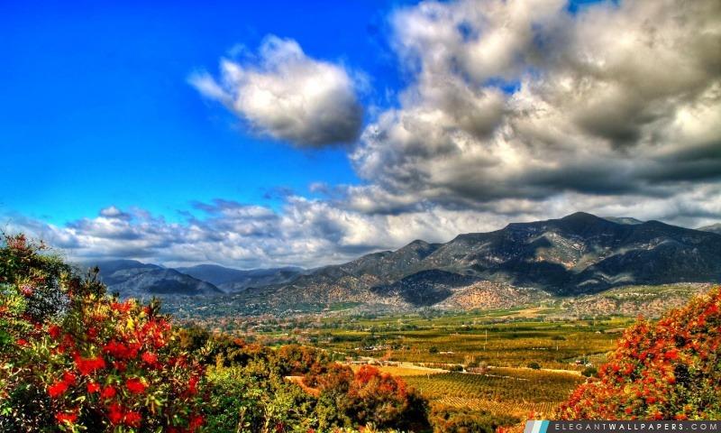 foto de Automne paysage de montagne HDR Fond d'écran HD à