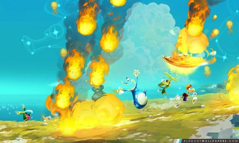 Rayman Legends 2012, Arrière-plans HD à télécharger