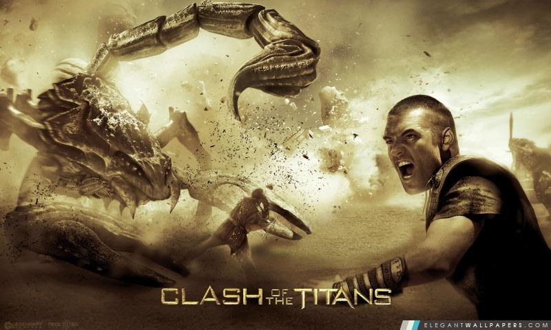 Sam Worthington Persée dans Le Choc des titans, Arrière-plans HD à télécharger