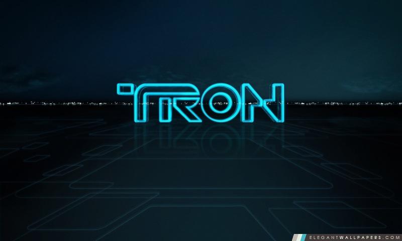 Tron Logo, Arrière-plans HD à télécharger