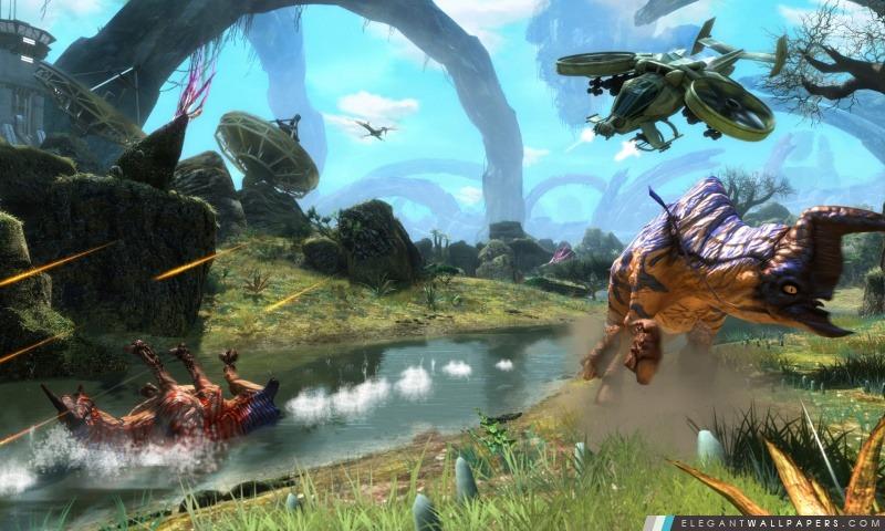 Avatar 3D 2009 Game Capture d'écran 2, Arrière-plans HD à télécharger