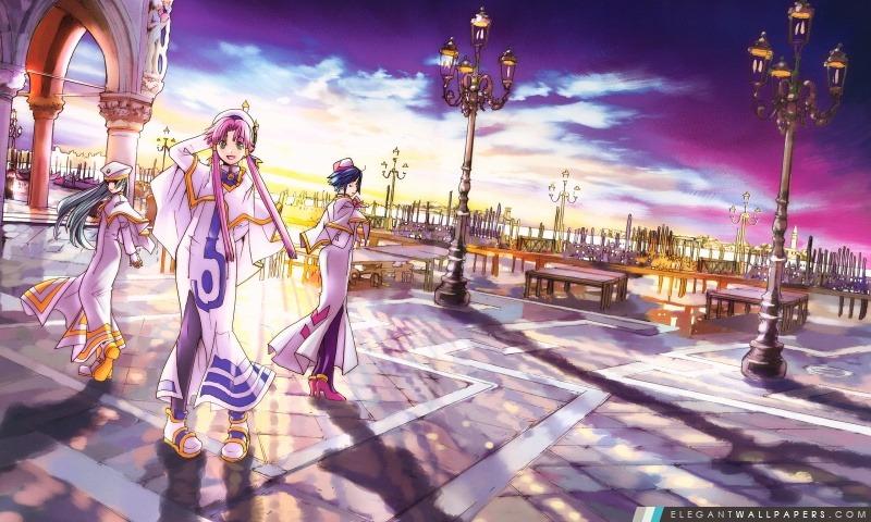 Aria Fantastique Manga Fond D Ecran Hd A Telecharger