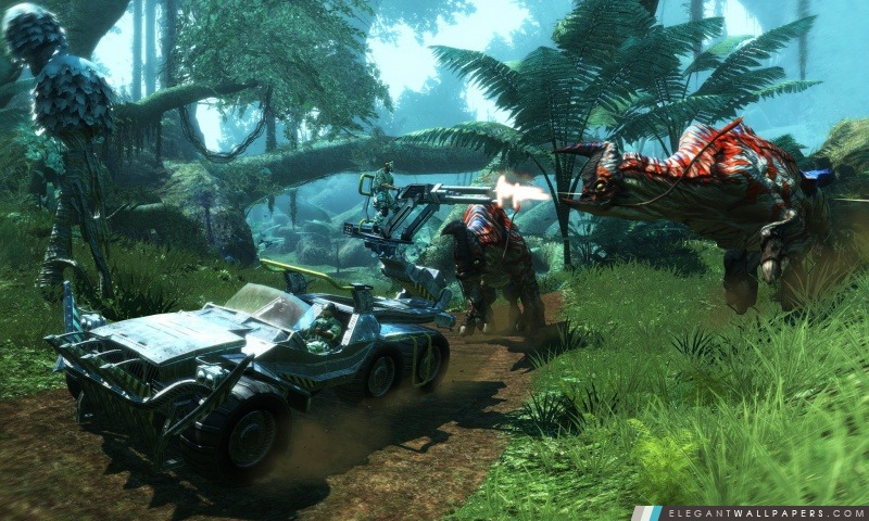 Avatar 3D 2009 Game Capture d'écran 9, Arrière-plans HD à télécharger