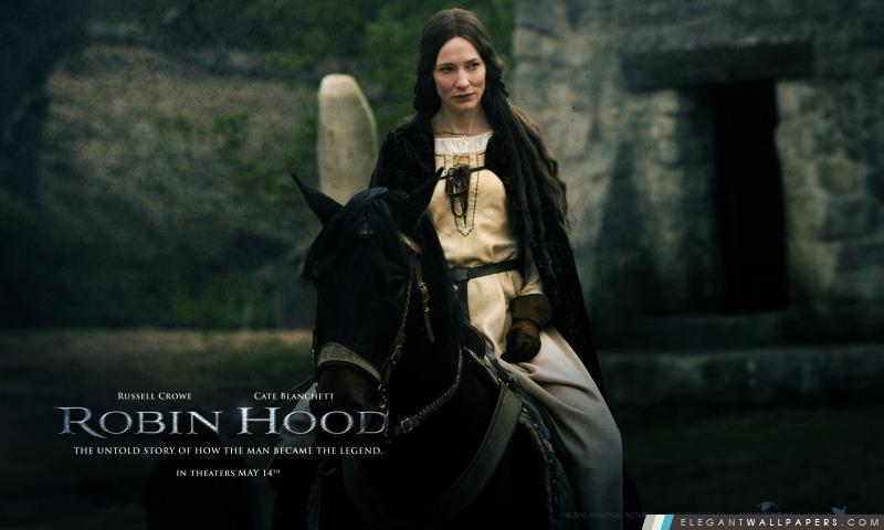 Cate Blanchett en Lady Marian, Robin Hood, Arrière-plans HD à télécharger