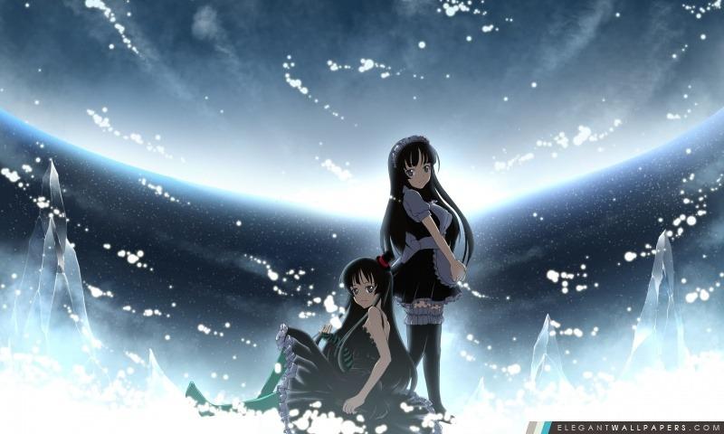 Anime Girls, Arrière-plans HD à télécharger
