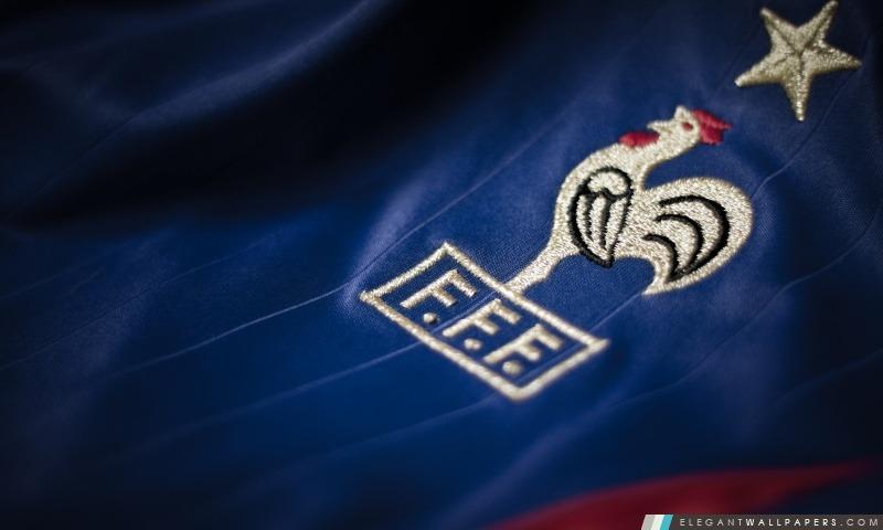 France Équipe de football T-shirt. Fond d'écran HD à télécharger | Elegant Wallpapers