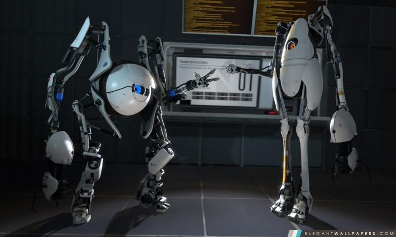 Portal 2 Coop, Arrière-plans HD à télécharger