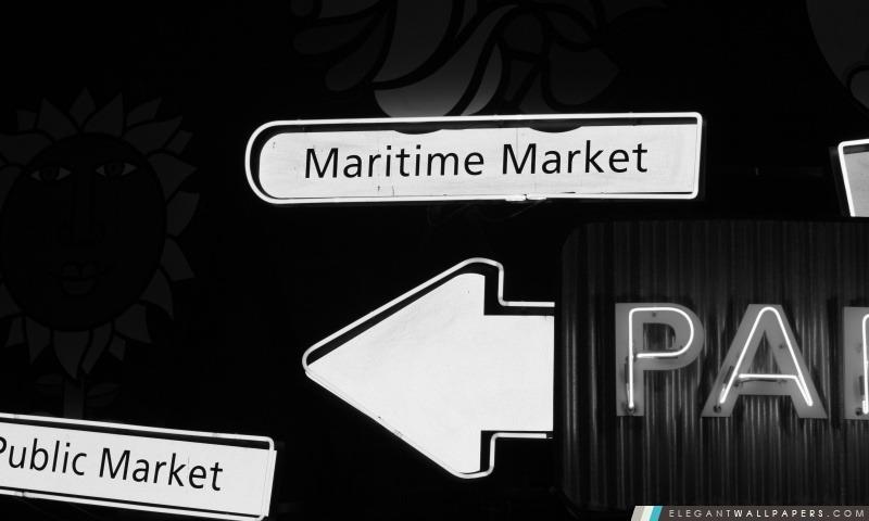 Marché public de Granville Island, Arrière-plans HD à télécharger