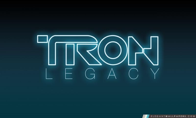 Tron Legacy Logo, Arrière-plans HD à télécharger