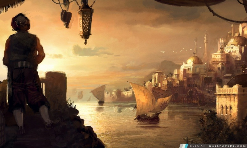 Dawn of Discovery, Arrière-plans HD à télécharger