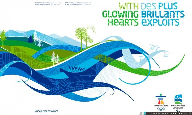2010 Jeux Olympiques d'hiver, Arrière-plans HD à télécharger