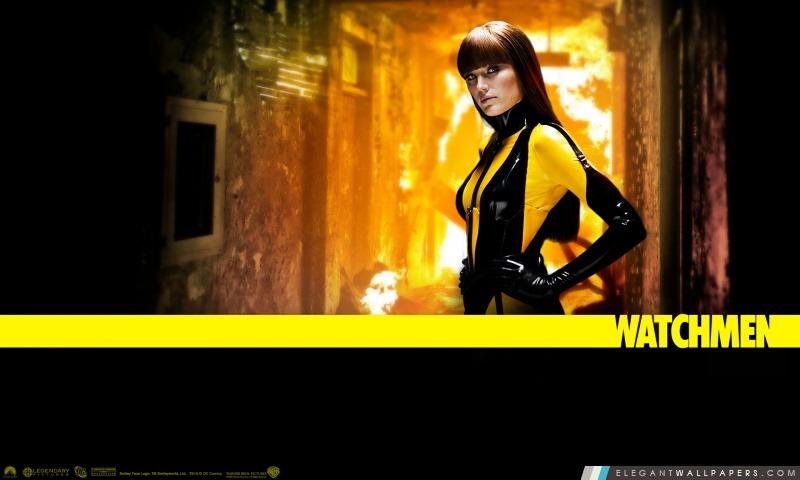 Malin Akerman Comme Silk Spectre Dans Watchmen, Arrière-plans HD à télécharger