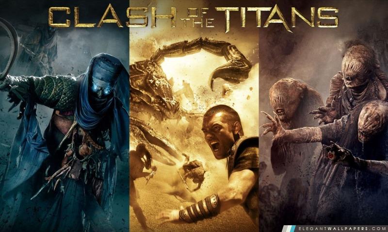 Le Choc des titans Film, Arrière-plans HD à télécharger