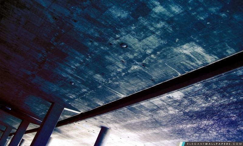 Bleu plafond, Arrière-plans HD à télécharger