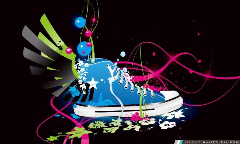 Creative Sneaker Fond D écran Hd à Télécharger Elegant