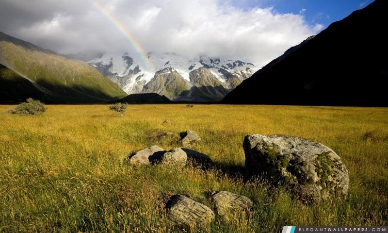 Mountain Rainbow, Arrière-plans HD à télécharger