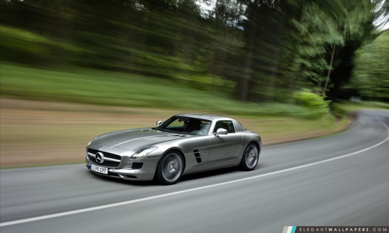 Mercedes-Benz SLS AMG, Arrière-plans HD à télécharger
