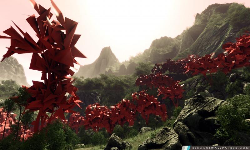 Art abstrait de paysage, Arrière-plans HD à télécharger