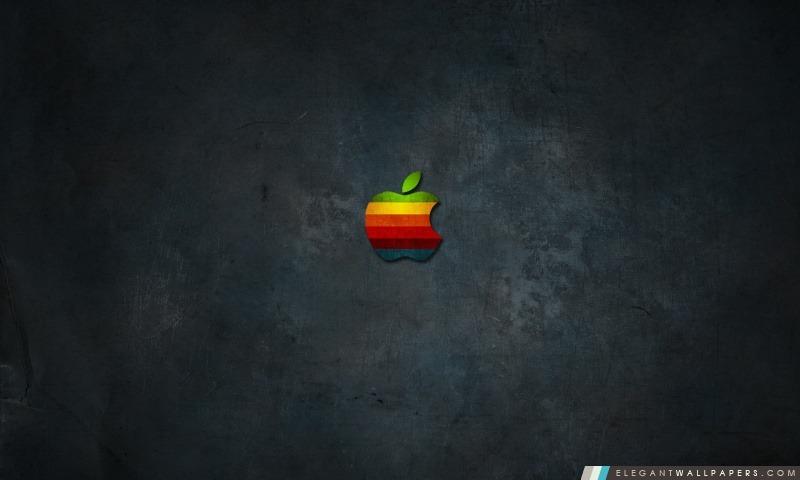 Arc en ciel d'Apple, Arrière-plans HD à télécharger