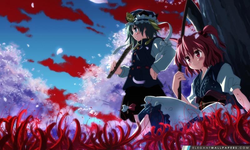 Forêt Anime, Arrière-plans HD à télécharger