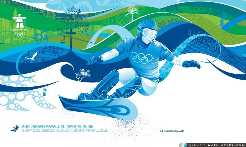 Snowboard: Slalom géant parallèle, Arrière-plans HD à télécharger