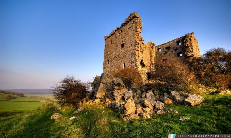 Ruines de la citadelle Paysage, Arrière-plans HD à télécharger