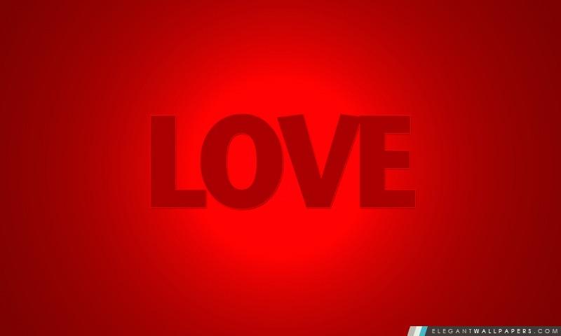 Mot d'amour, Arrière-plans HD à télécharger