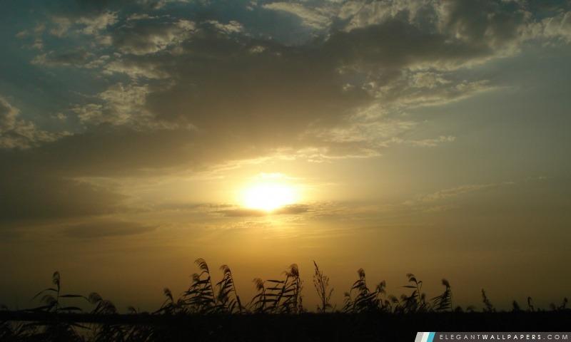 Coucher du soleil, Arrière-plans HD à télécharger