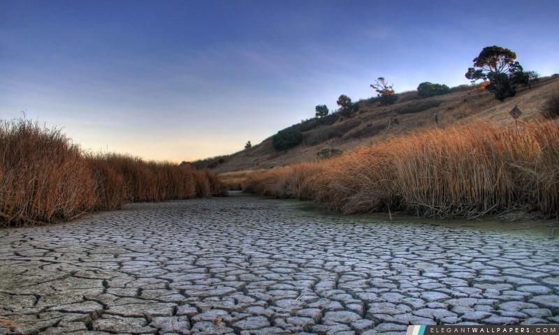 Dry Lake, Arrière-plans HD à télécharger