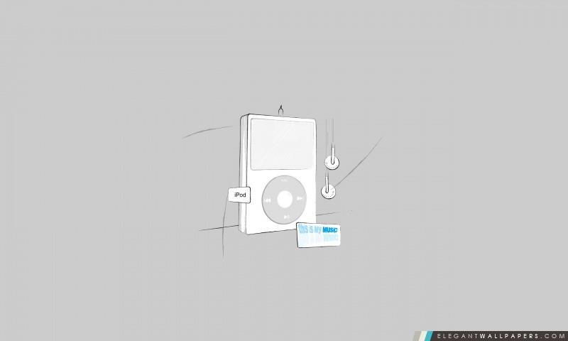 IPod Sketch, Arrière-plans HD à télécharger